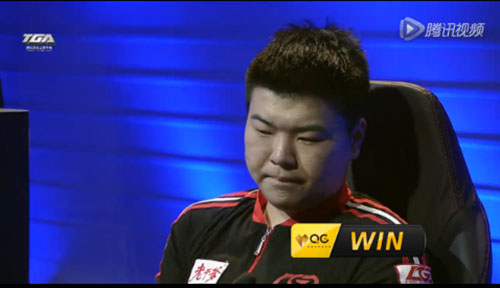 chinese lol fan disappointed at his teammates