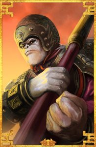 monkey king wu kong aom age of mythology